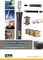 Lightraulics® Composite Hydraulic Cylinders