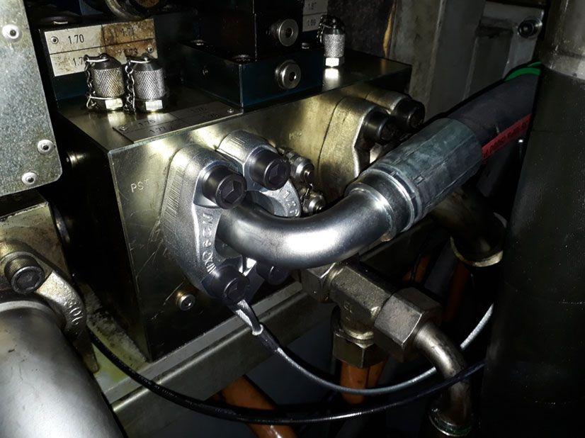 Все работы проводились строго в соответствии с инструкциями и правилами компании Parker при сборке и монтаже продукции.